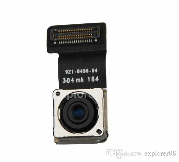 Original For iphone 5S 5G 5C 6G 6 Plus Back Camera 8MP Main Rear Module 8.0 Megapixel With Flex Cable