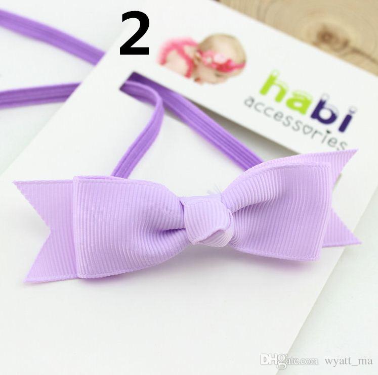 2018 neue Fischschwanz Bogen Stirnband Headwear Kinder Haarschmuck für Baby Mädchen Baby Mädchen Stirnband Neugeborenen Stirnbänder Taufe Haarbögen