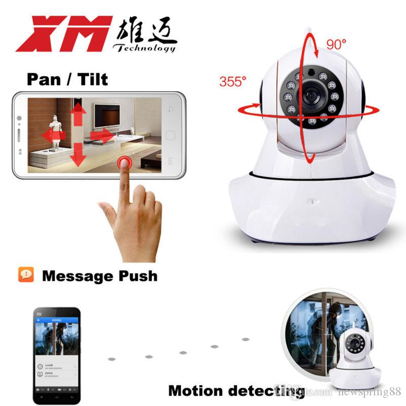 XMEye 1 3MP IP Camera WiFi 960P HD Home Security Camera SyStem Pan & Tilt  Motion Detecting Audio and Speaker Free App Remote