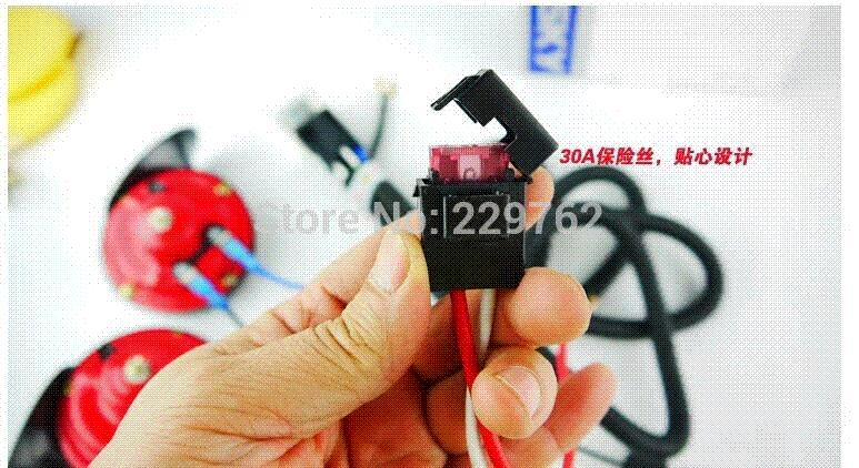 Fine Car Auto Super Tone Horn Relay Wiring Harness Kit Controller 12V Wiring Cloud Staixuggs Outletorg