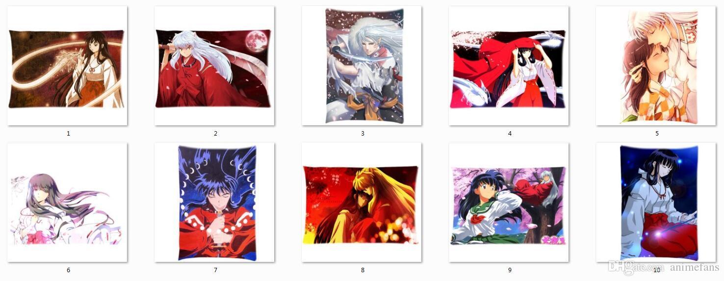 Hot Anime Inuyasha Characters Kagome Higurashi & Kikyo Twin Sides ...