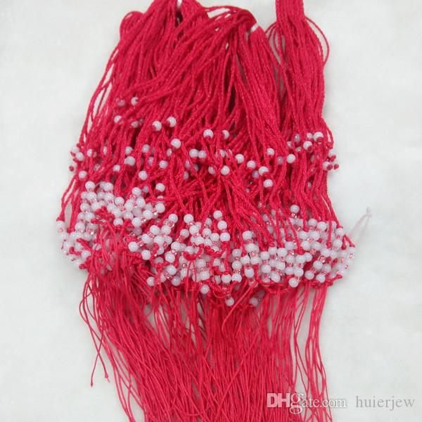 Charm bracelet Handmade Longevity 8 Beads Decorative Best Wish Red String Lucky Bracelet