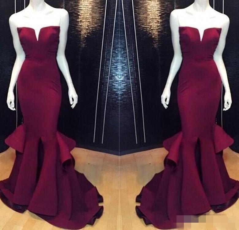Bridesmaid Mermaid Evening Dresses