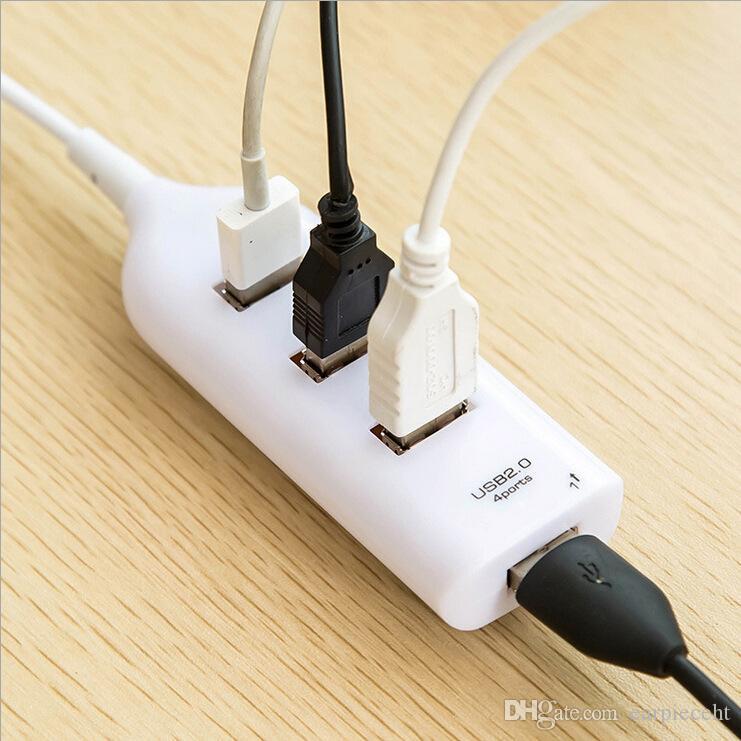 소매 4 포트 USB 2.0 허브 멀티 콘센트 전원 스트립 유형 F0889 W0.5 휴대용 노트북에 적합