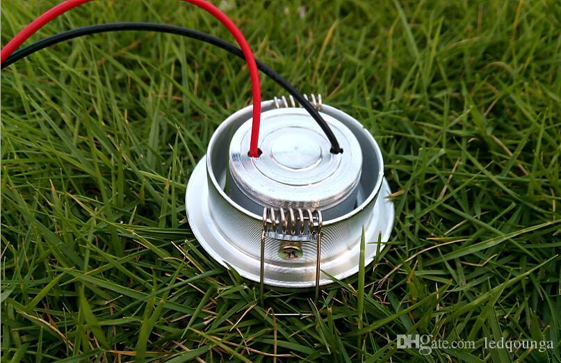 아래 조명 1 와트 스포트 라이트 전구 화이트 쿨 화이트 스포트 라이트 전구 램프 조명 램프 CE로시를 따뜻하게 1W LED 다운 라이트 내각 미니 천장
