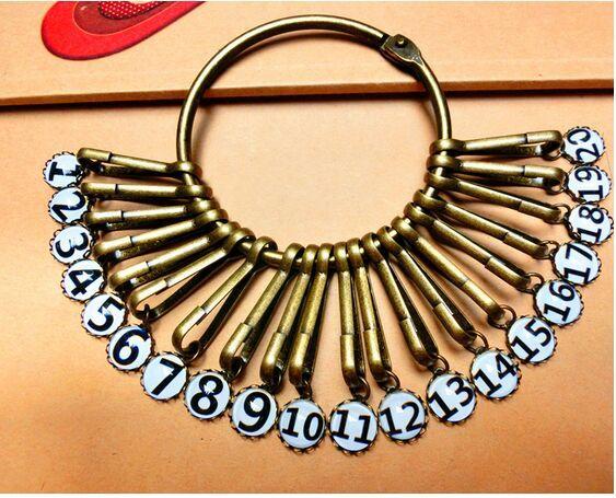 Promotion Retro Keychains Thickening Key Rings Disk Keychain Multiring Large Size Warehouse Landlord Hotel Keychain Pendants