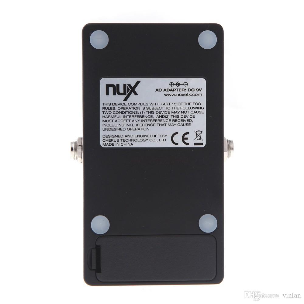 Prodotto originale NUX AS-4 Amplificatore Simulatore Violao Chitarra Effetti a pedale elettrico True Bypass Accessori strumenti musicali