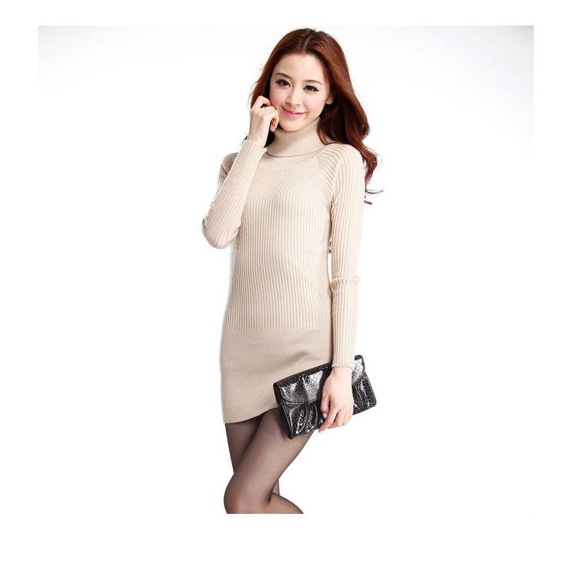 2019 2017 Winter Women Sweater Turtleneck Long Sleeve Slim Pullovers Womens  Warm Elastic High Quality Sweaters Vestidos Pull Femme From Armani10,