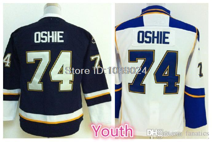 919e0d323cda 2019 2016 New Arrival Hockey Jersey Youth T.J. Oshie Jersey Boys Blue White  Good Quality Kids 74 Tj Oshie Jerseys From Fanatics