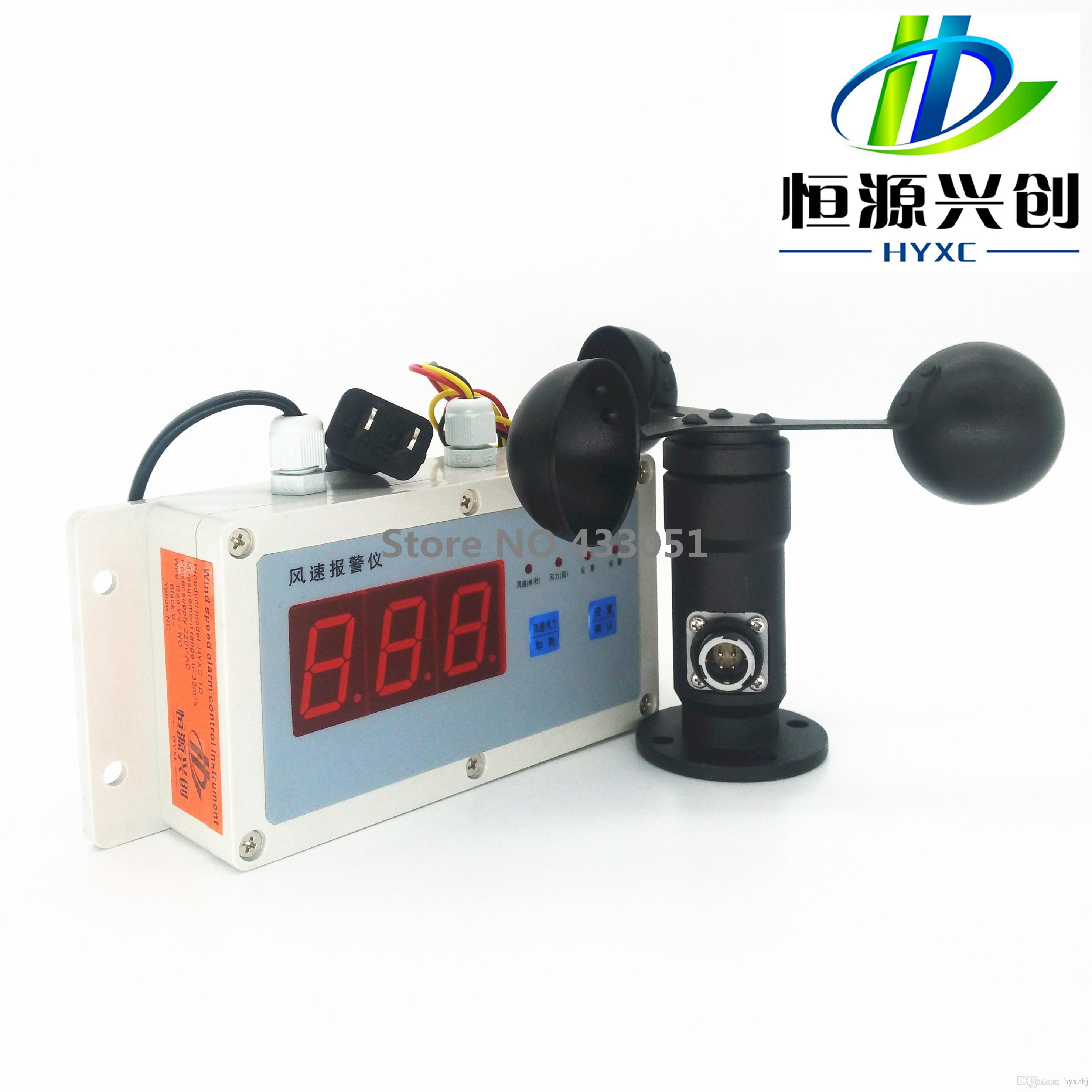 Wind Speed Indicator For Cranes : Wind speed measurement and control instrument