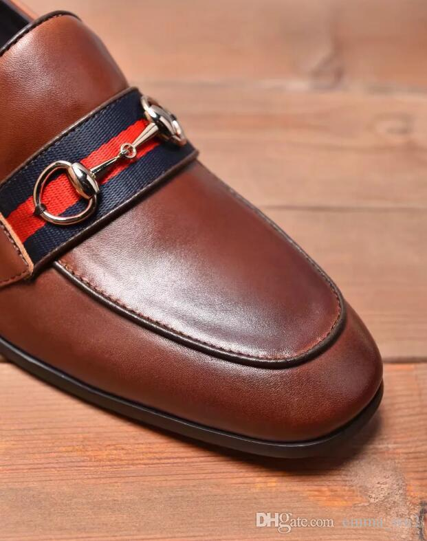 Acquista Scarpe Artigianali Da Uomo In Vera Pelle Di Marca, Scarpe Da Uomo Comode, Scarpe Eleganti Da Uomo, Scarpe Eleganti Da Uomo A $88.45 Dal