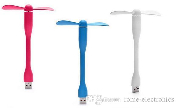 USB Fan Gadgets Flexible USB Portable Mini Fan fridge cooler For Xiaomi Power Bank Notebook Laptop Computer Power-saving