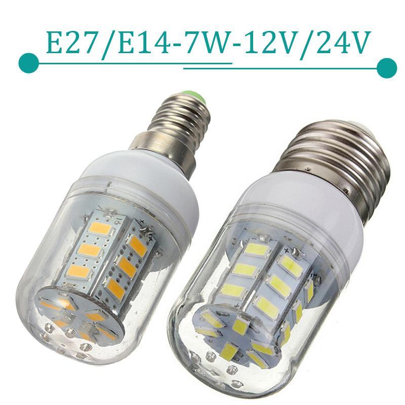 e27 e14 led lamps 5730smd 7w 27leds 12v 24v corn bulb energy efficient led ligh zm00838. Black Bedroom Furniture Sets. Home Design Ideas