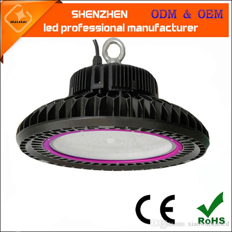 2018 New Desingn 100w 150w 200w 240w Ufo Led High Bay Light Industrial Low Super Bright 120lm W From Xiaowalstarled