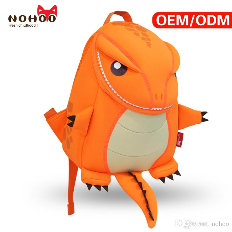 202f010554b Kids Backpack Personalized Cartoon Animal Dragon Dinosaur Design Children  School Bags For Girls Boys Satchel Yellow   Orange Back To School Backpack  ...