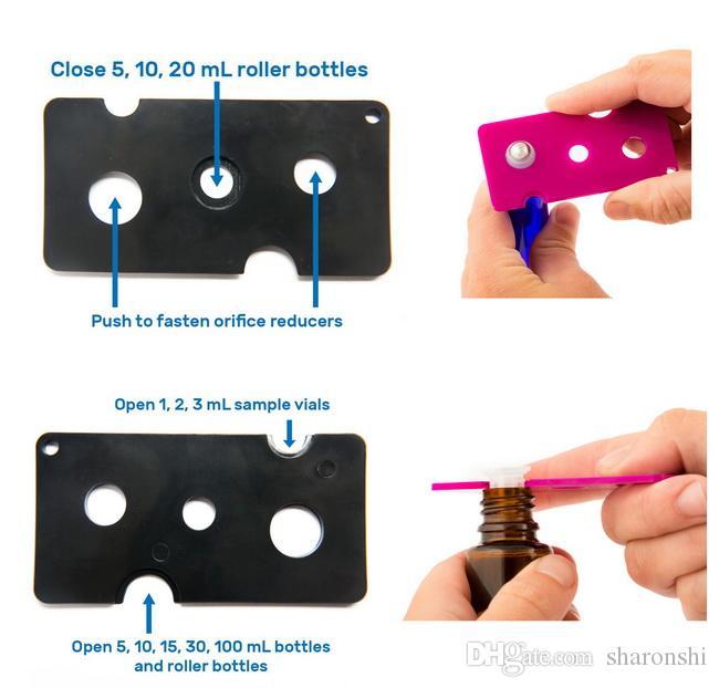 Essential Oil Opener Key Tool Remover voor Roller Balls and Caps Flessen 1ml 2 ml 3 ml 5ml 10ml / door DHL / EMS / FEDEX gratis schip