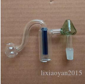 Nouveau filtre classique en verre coloré de filtre de champignons de pot de verre, livraison aléatoire de couleur