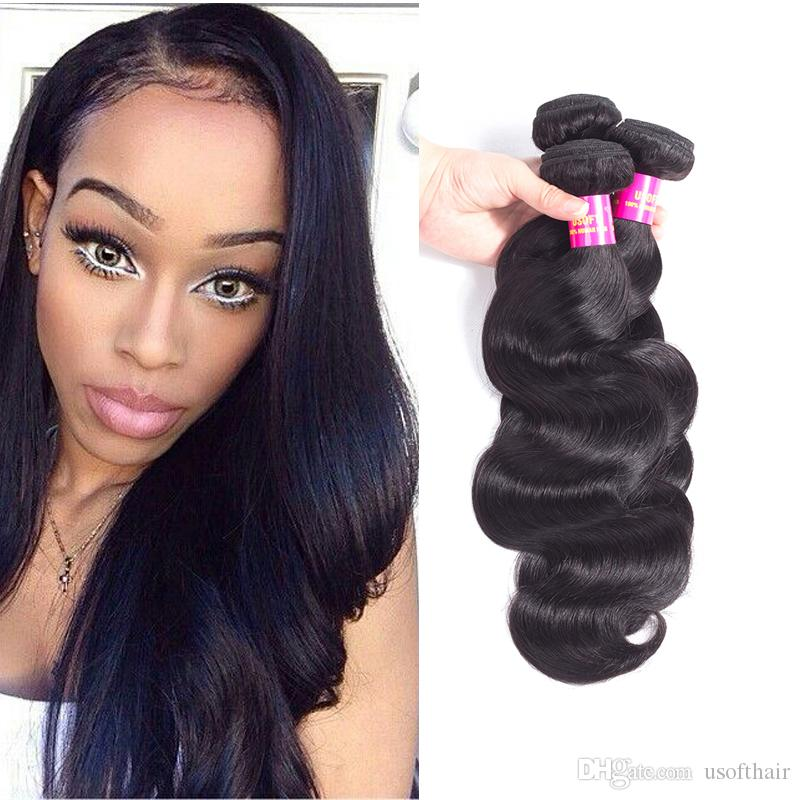 Hair Bundles Bodynatural Wave Hair Weaves Brazilian Virgin Human