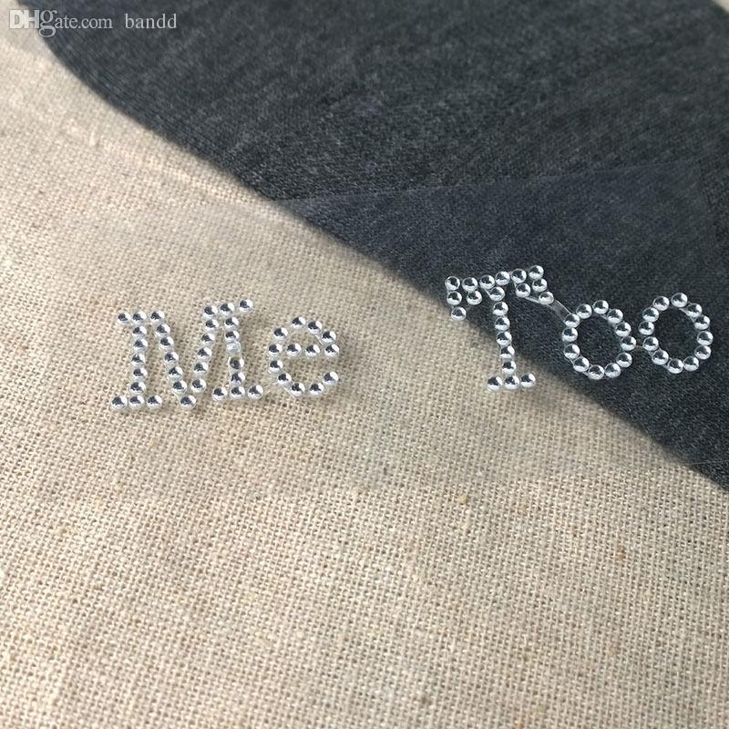 Wholesale-Vorkin I Do Me Too Bridal Groom Shoe Sticker White Clear ... 35a91edfd17c