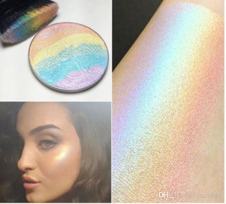 Nouveau Rainbow Spécial Grand Prisme Surligneur Bitter Lace Beauty Blush Maquillage six couleurs été sentiments Surligneur maquillage