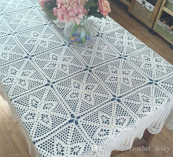 New Crochet Design American Country Living Vintage Style