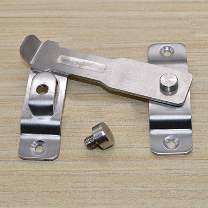 Envío gratis Deducción antirrobo puerta gruesa cadena de seguridad hebilla hotel de construcción de viviendas ventana de la puerta cerrojo cerrojo bricolaje hardware pieza parte de cierre
