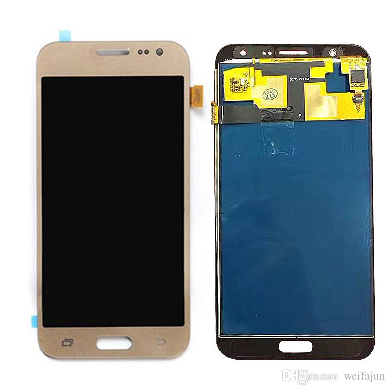 can not Adjust Brightness LCD Display +Touch Screen For Samsung Galaxy J7 nxt J701F J701M J701 J7 neo J7 core LCD Digitizer Assembly Tools