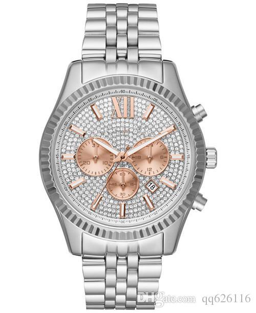 Fashion classic business big Dial Watch M8494 M8515 + Original box + Wholesale and Retail +