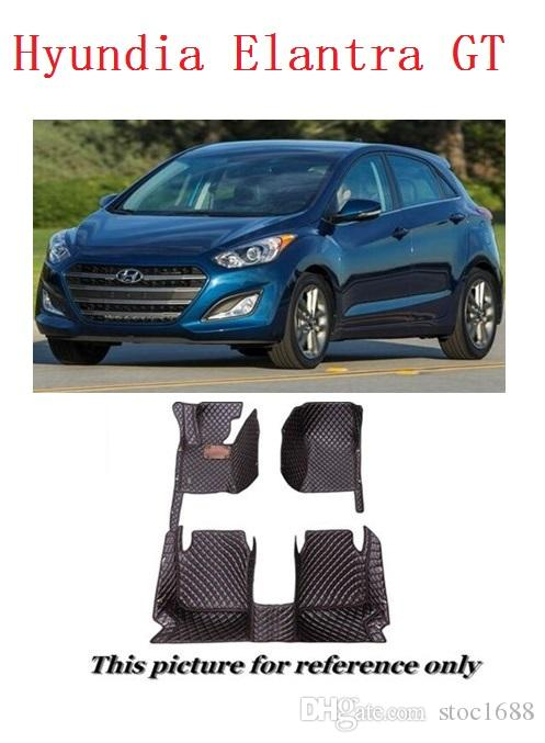 2018 Scot All Weather Leather Car Floor Mats For Hyundai Elantra Gt  Waterproof Anti Slip 3d Front U0026 Rear Carpet Custom Fit Left Hand Driver  Model From ...