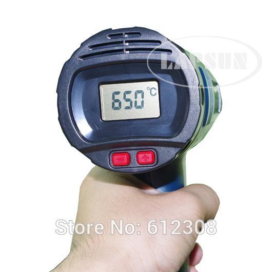 220 V-240 V 2000 Watt LCD Display 630 grad Einstellbare Elektronische Wärme Heizung Heißluftpistole 8020E + 60 Watt HAOKO 708 Lötkolben Kit