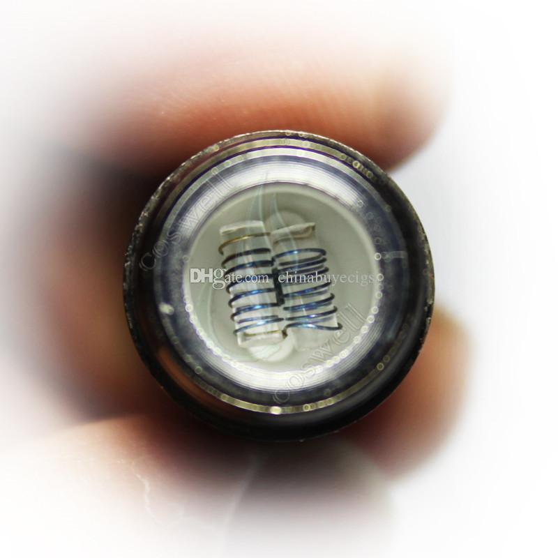Skillet 2 Rebuildable головка катушки Puffco pro испаритель двойной кварц керамическая камера пончик воск сухой травы атомайзер травяные катушки замены пара