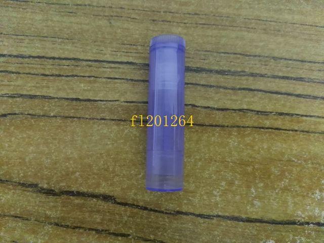 200 unids / lote Envío Gratis 5g Vacío Transparente LIP BALM Tubos Contenedores botella de lápiz labial colorido tubos de labios frescos