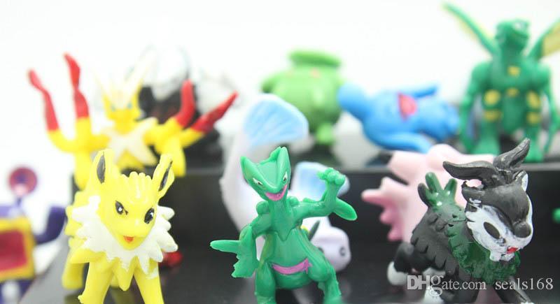 Monster Pikachu Jouets PVC de Bande Dessinée Cosplay Films Action Figure Décoration Poupée Jouets Enfants Enfants Cadeaux 3CM SZ-T02