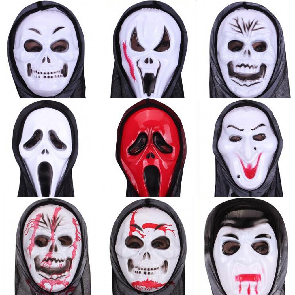 2016 Halloween Party Mask Witch Demon Ghost Face Mask Hot Sale Men ...