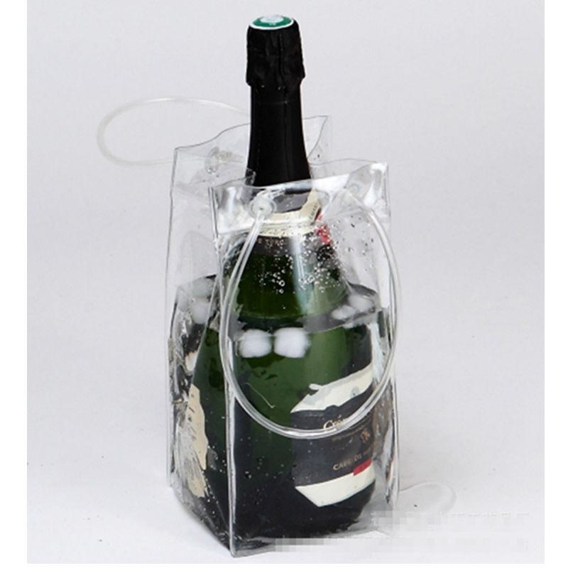 Tasche Geschenk Wein Bier Champagner Eimer trinken Eisbeutel Flaschenkühler Kühler faltbare Träger gefallen Geschenk Festival Taschen