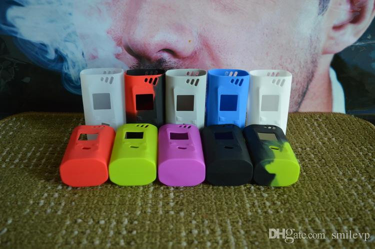 For Smok Alien 220w Silicone Case Colorful Rubber Protective Smok Alien 220w Cover Skin For SmokTech Alien 220W TC Box Mod Kit case