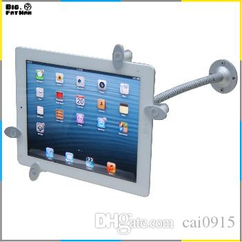universal tablet pc 360 wall mount desktop counter lock holder stand for ipad 2 3 4 air samsung galaxy tab 1 2 3 49 101 inch from cai0915