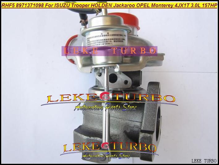 RHF5 8971371098 Turbo Turbocharger For ISUZU Trooper 1999-04 HOLDEN Jackaroo OPEL Monterey 4JX1TC 4JX1T 3.0L 157HP (4)