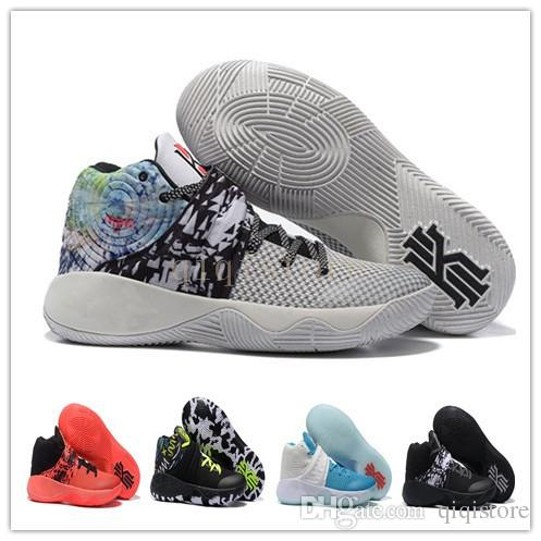50505d7d12eb14 Kyrie 2 Basketball Shoes Effect 14 Tie Dye Cavaliers Limited Kyrie Irving  Sneakers For Men Original Quality Athletic Shoes Sport Shoes Mens Sneakers  From ...