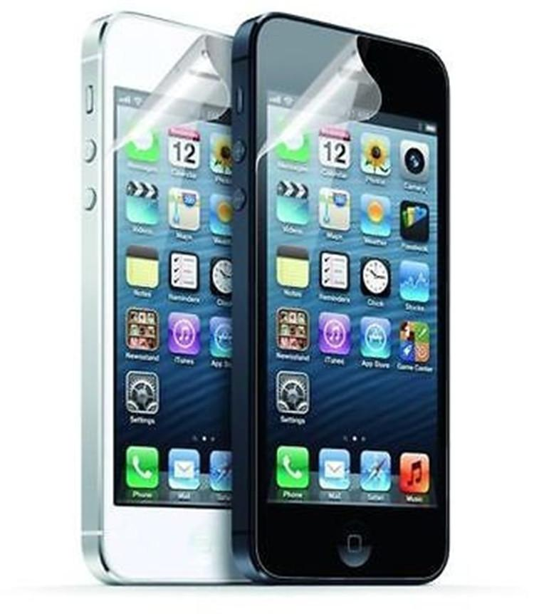 Para iphone xs max xr claro lcd protetor de tela guarda film capa para iphone 6 7 8 plus x filme + pano