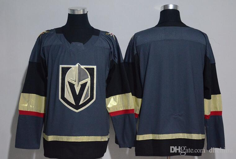 New Vegas Golden Knights Jerseys Blank Jersey No Name No Number 2017 ... 9f1c444a9