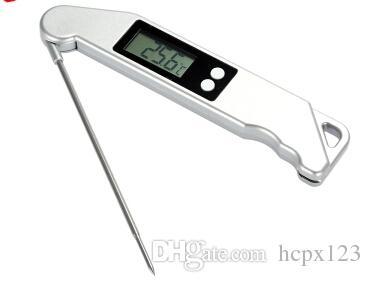 вилки TS-BN61 термометр барбекю барбекю термометр барбекю складной вилки Электронный термометр мяса вилки для барбекю гриль термометр