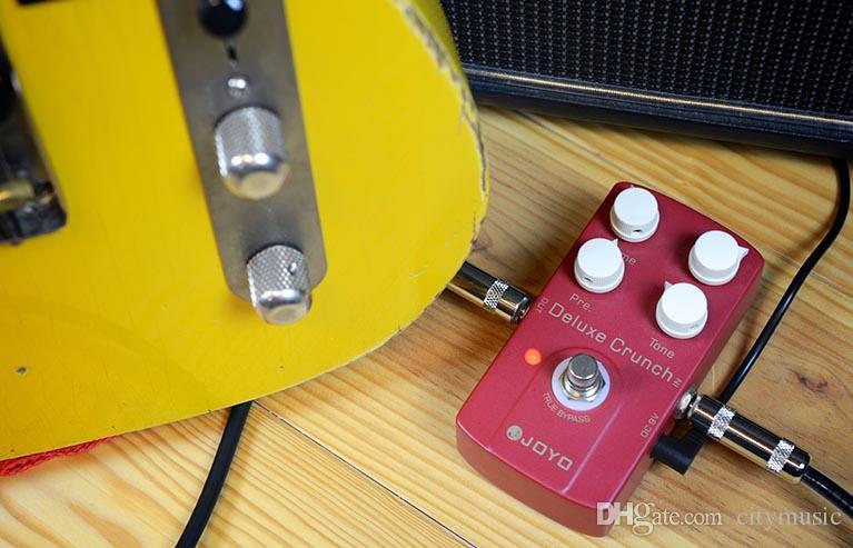 JOYO JF-39 Deluxe Crunch Elettrico Guitarra Violao Chitarra Effetti Distorsione A Pedale True Bypass Design Strumento Musicale Parti I289