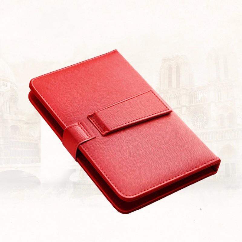 Virar capa de telefone de couro pu com kistand otg elegante teclado usb tampa do suporte durável para android phone samsung huawei huawei lg