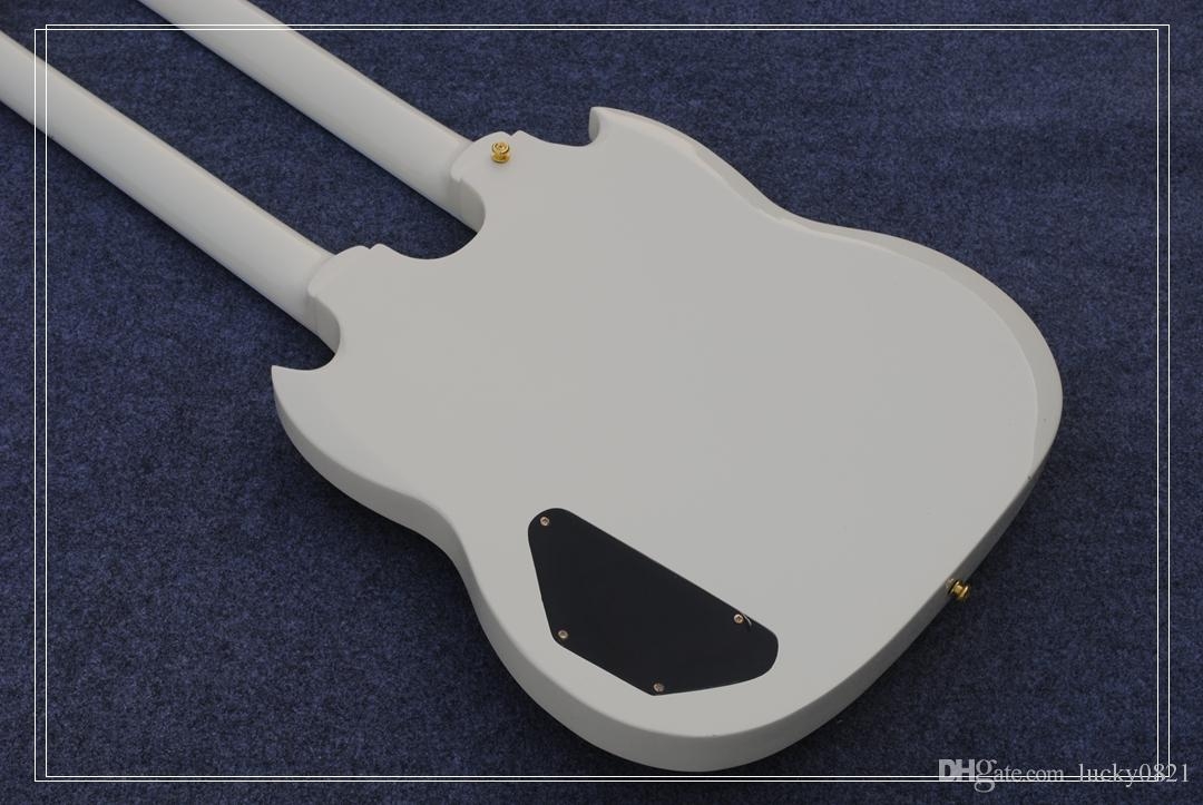 NEW arrived Double neck Electric Guitars 1275 Cream White electric guitar 6 string and 12 string TOP SELLER