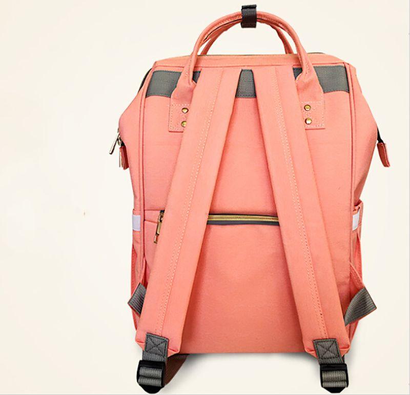 Detaljhandel 14 färger blöja väska mommy moderskap nappy väskor stor kapacitet baby resa ryggsäck desiger ammande väska baby vård för pappa och mamma