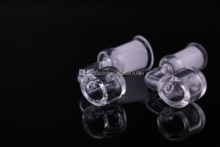 4mm d'épaisseur de quartz bangerz avec bouchon de glucides pour narguilés DAB plate-forme DAB Domeless Nail 10mm 14mm 18mm mâle femme 100% vrai quartzbanger