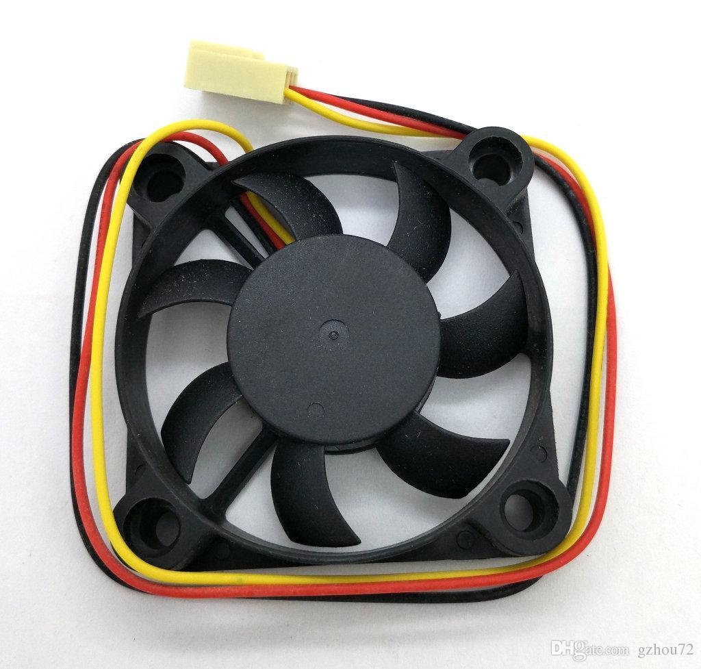 New Original VETTE A5010H12D 12V 0.14A 50*50*10MM 3 Lines Computer cooling fan