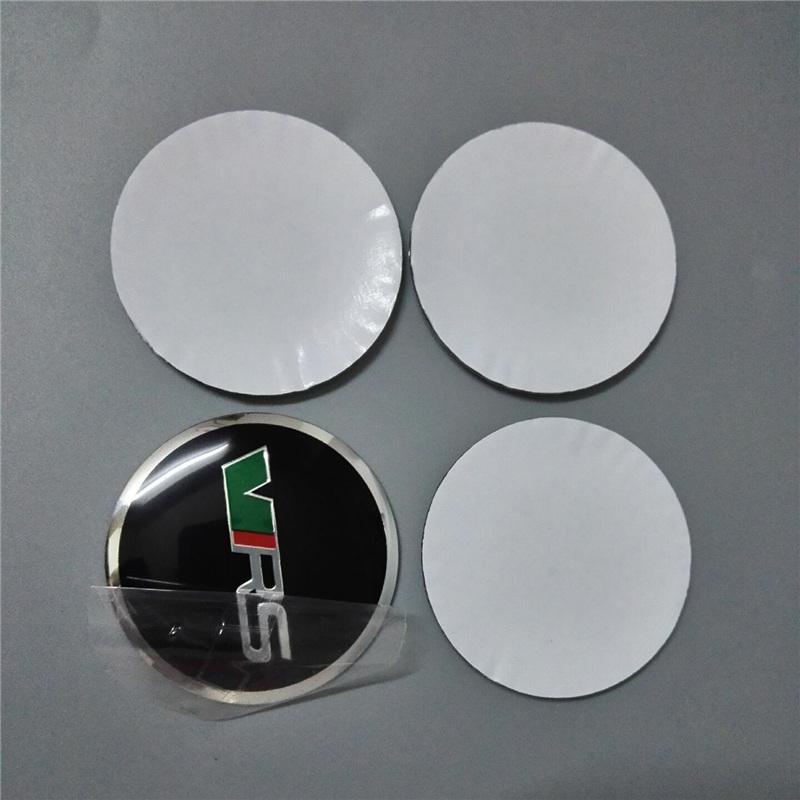 56.5mm Car Decals for Skoda All Cars Set Self Adhesive Aluminum Emblem Badge Sticker