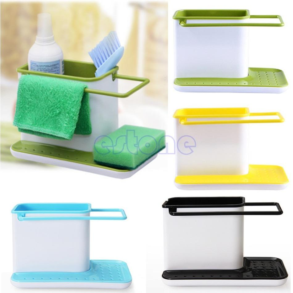 Online Cheap Plastic Multifunction Racks Kitchen Sink Utensils Holders  Organizer Caddy Storage Holder New By Xianrihanfeng | Dhgate.Com